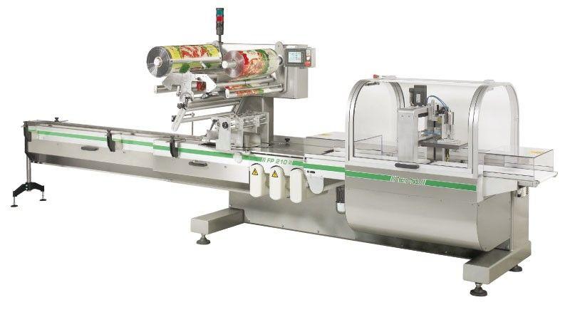 Línea de producción de croissants