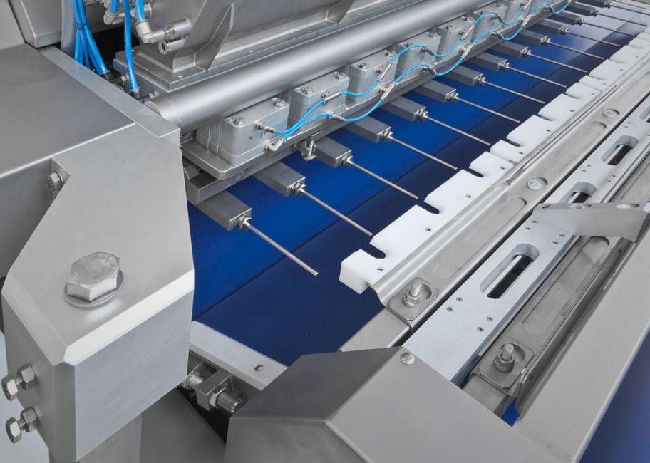 Línea de producción de croissants - Alimec horizontal injection