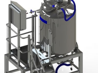Yeast dosing system