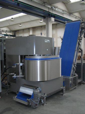 Línea de producción de croissants -