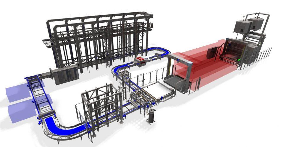Proyecto instalación panadería - 3d completo linea