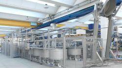 Linea para pan de alta producción