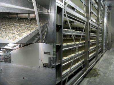 Cámaras de fermentación/fermentadores