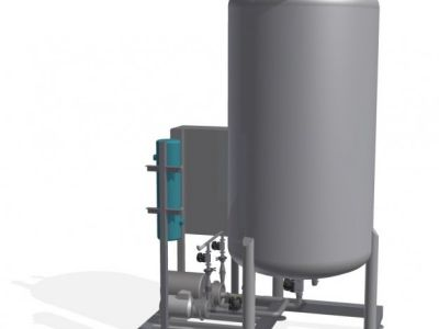 Lazos agua pura y agua osmotizada (PW-RO)