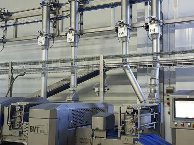 Sistema de relleno automático de harineros