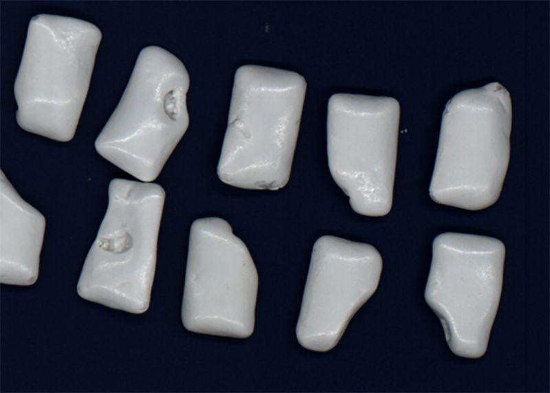 control de calidad y expulsión para grageas de goma de mascar